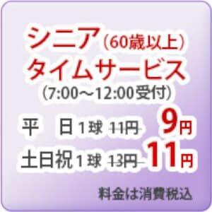 千葉県のエイティーワンゴルフ倶楽部はシニアタイムサービスあり