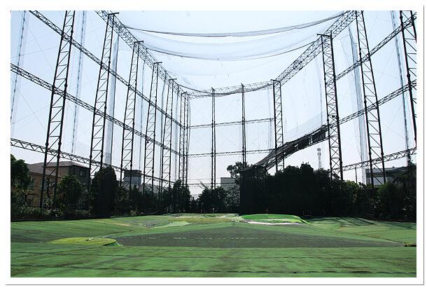 千葉県松戸市のエイティーワンゴルフ倶楽部場内
