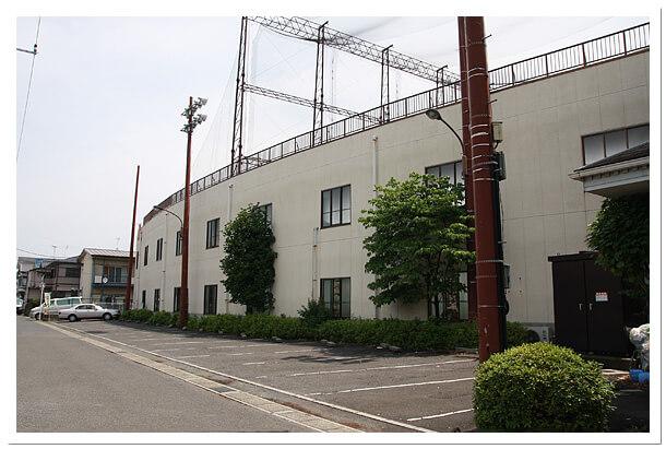 千葉県のエイティーワンゴルフ倶楽部打席裏第2駐車場