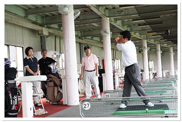 千葉県松戸市のエイティーワンゴルフ倶楽部ゴルフ教室