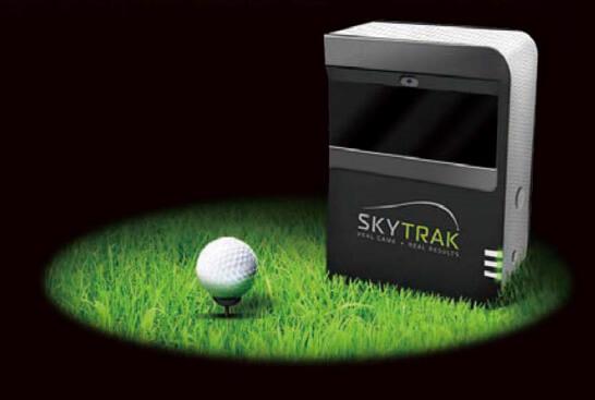 飛距離やヘッドスピードを測定できるSKYTRAK導入